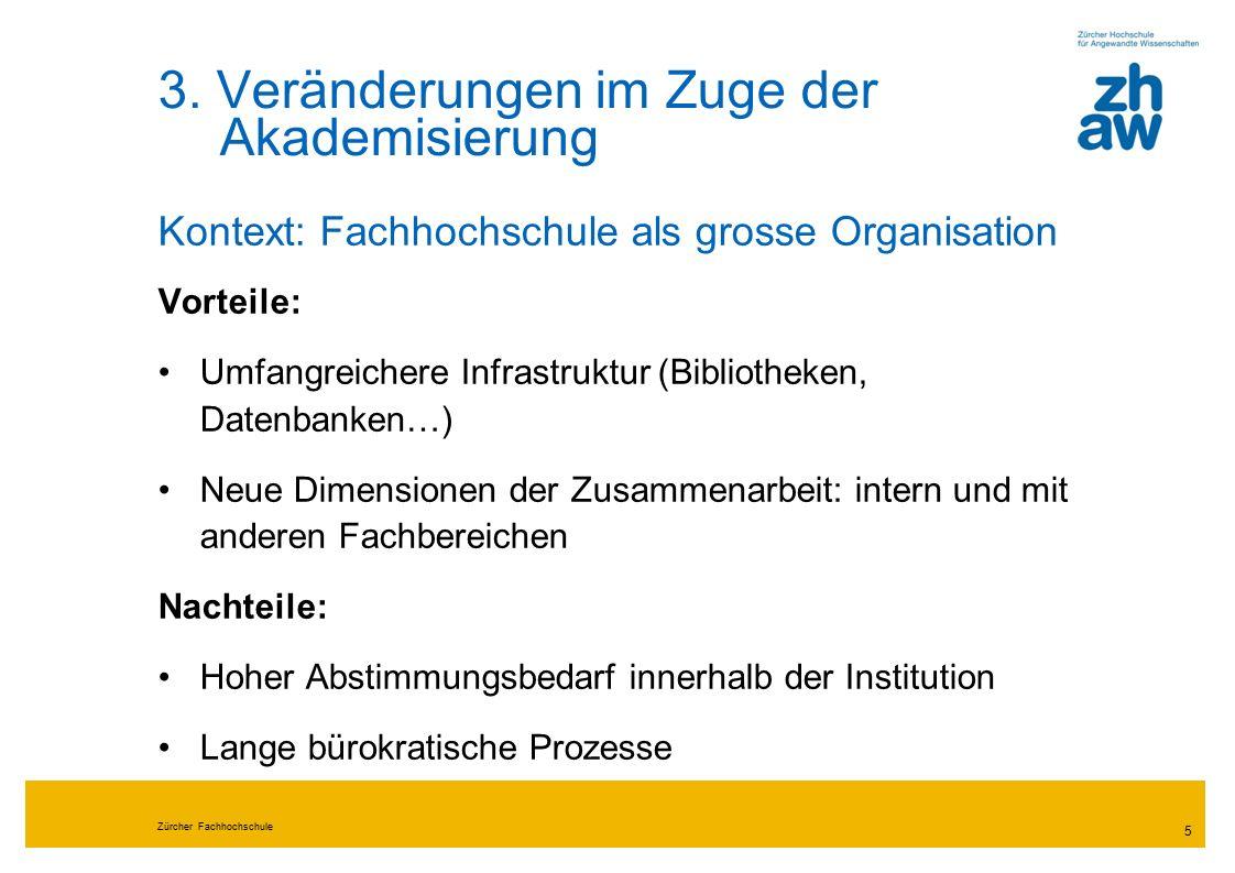 Zürcher Fachhochschule 5 3.