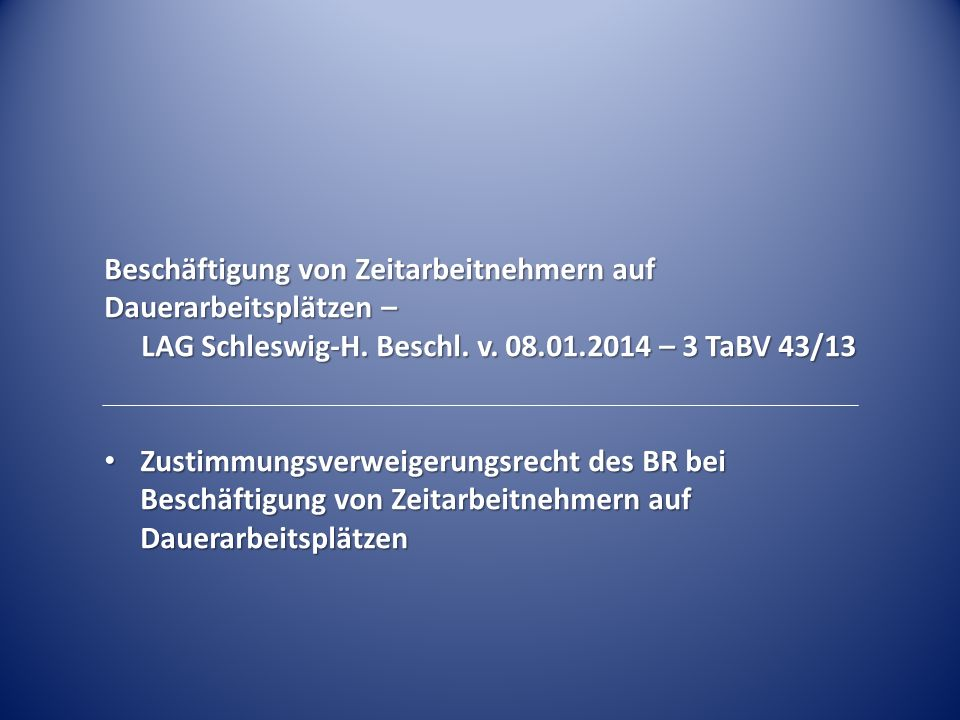 Verdeckte Arbeitnehmerüberlassung durch Scheinwerkvertrag – LAG Rheinland-Pf.