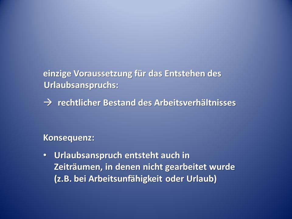 Urlaubsansprüche im ruhenden Arbeitsverhältnis (befristete Erwerbsunfähigkeitsrente) – BAG Urt.