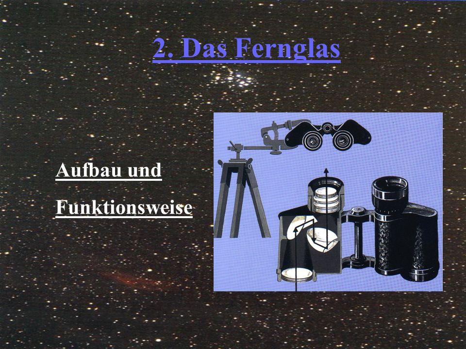 2.1.Der Aufbau und Funktion  Es besteht aus zwei gleichen, parallelen Fernrohren.