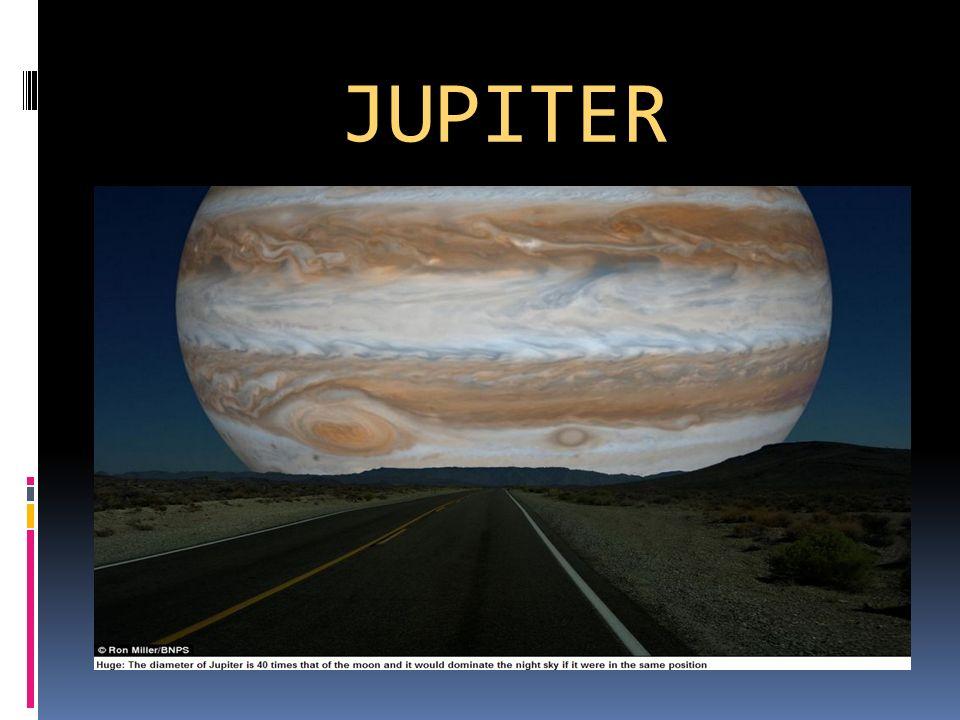 Position im Sonnensystem Der Jupiter ist der 5.Planet im Sonnensystem.