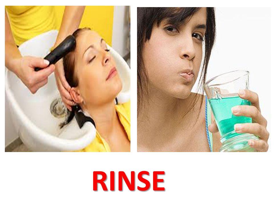 RINSE RINSE