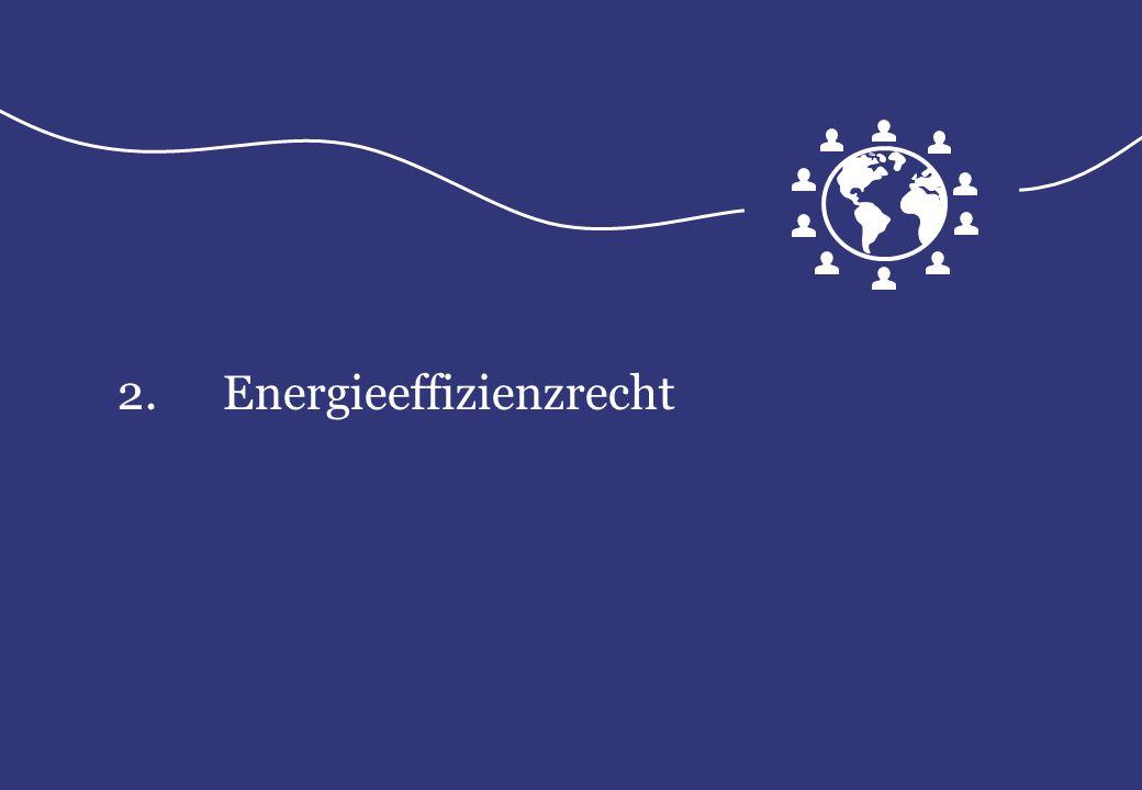 2. Energieeffizienzrecht