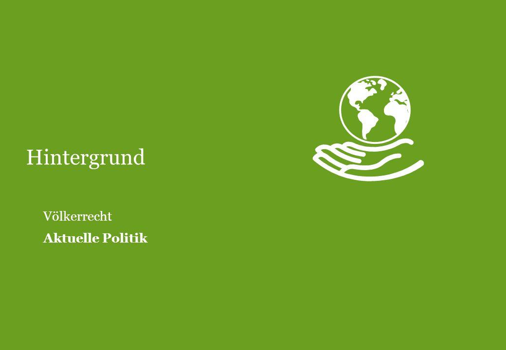 Hintergrund Völkerrecht Aktuelle Politik