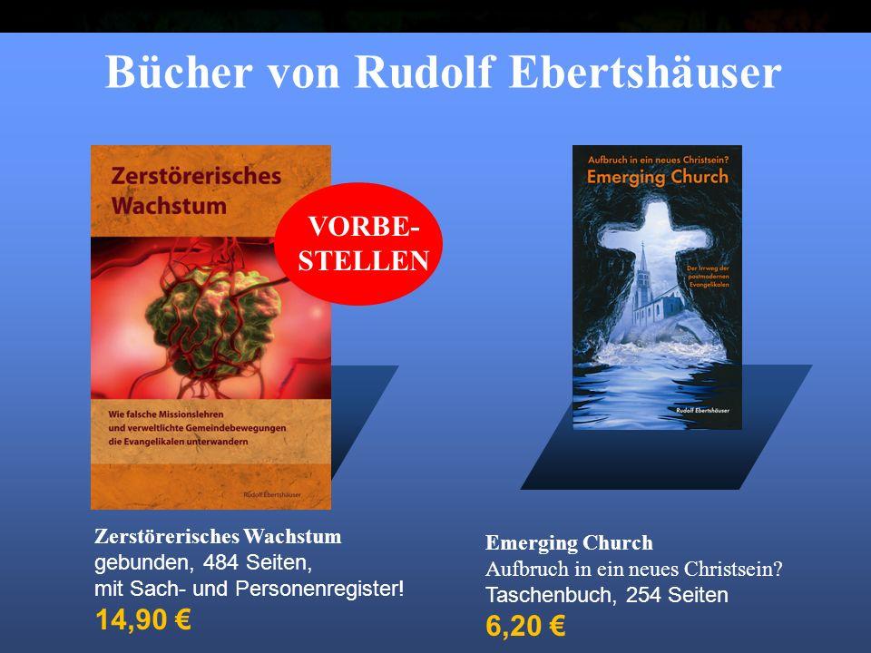 """Titel: """"Emerging Church Wolfgang Bühne 2006 Bücher von Rudolf Ebertshäuser Emerging Church Aufbruch in ein neues Christsein."""