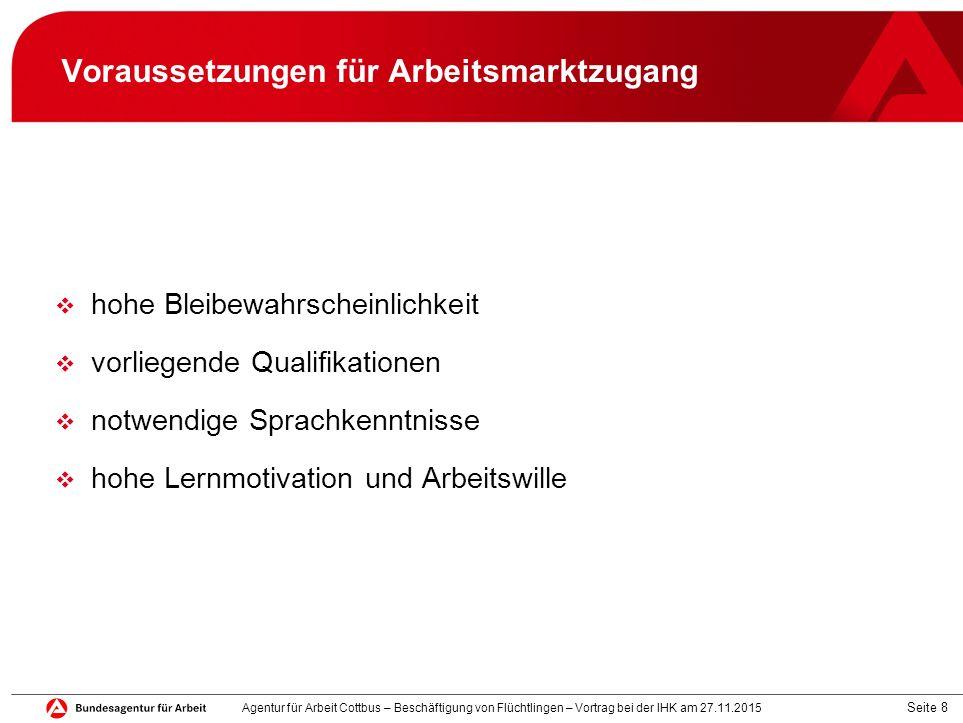 Seite 19 Beratung, Förderung, Vermittlung (akt.Sachstand) 390 Arbeitgeberansprachen wg.