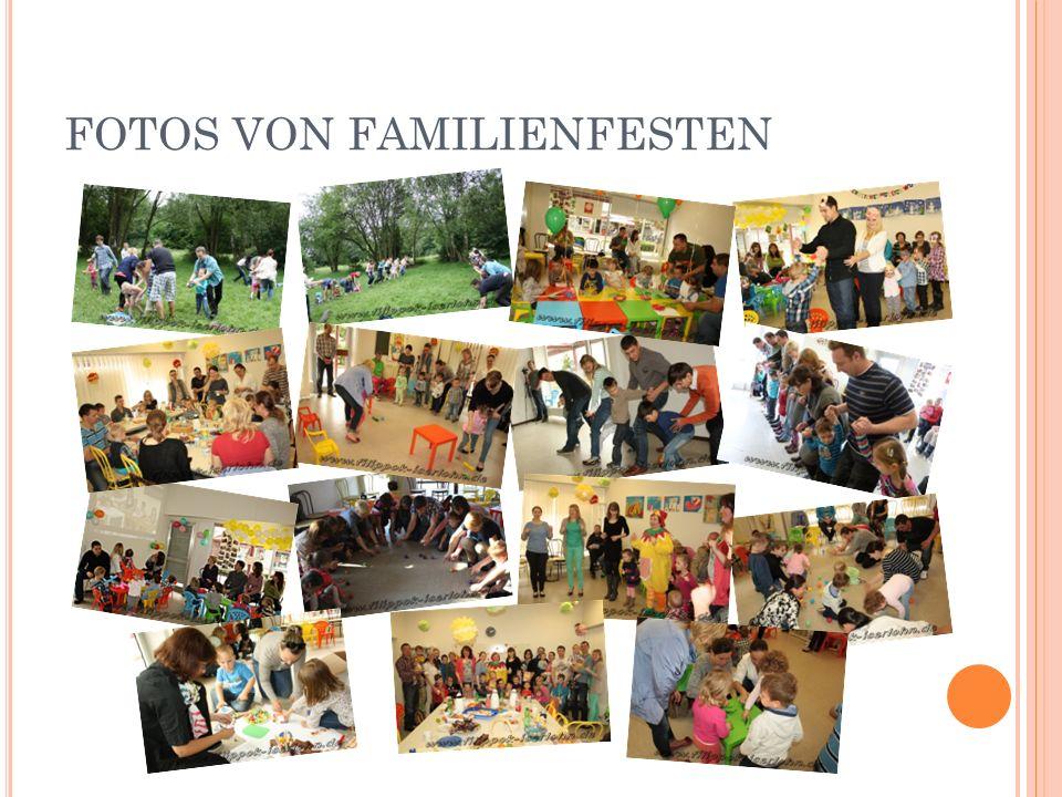 FOTOS VON FAMILIENFESTEN
