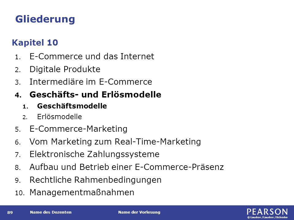 © Laudon /Laudon /Schoder Name des DozentenName der Vorlesung Prozessmodell des Real-Time Advertising 130