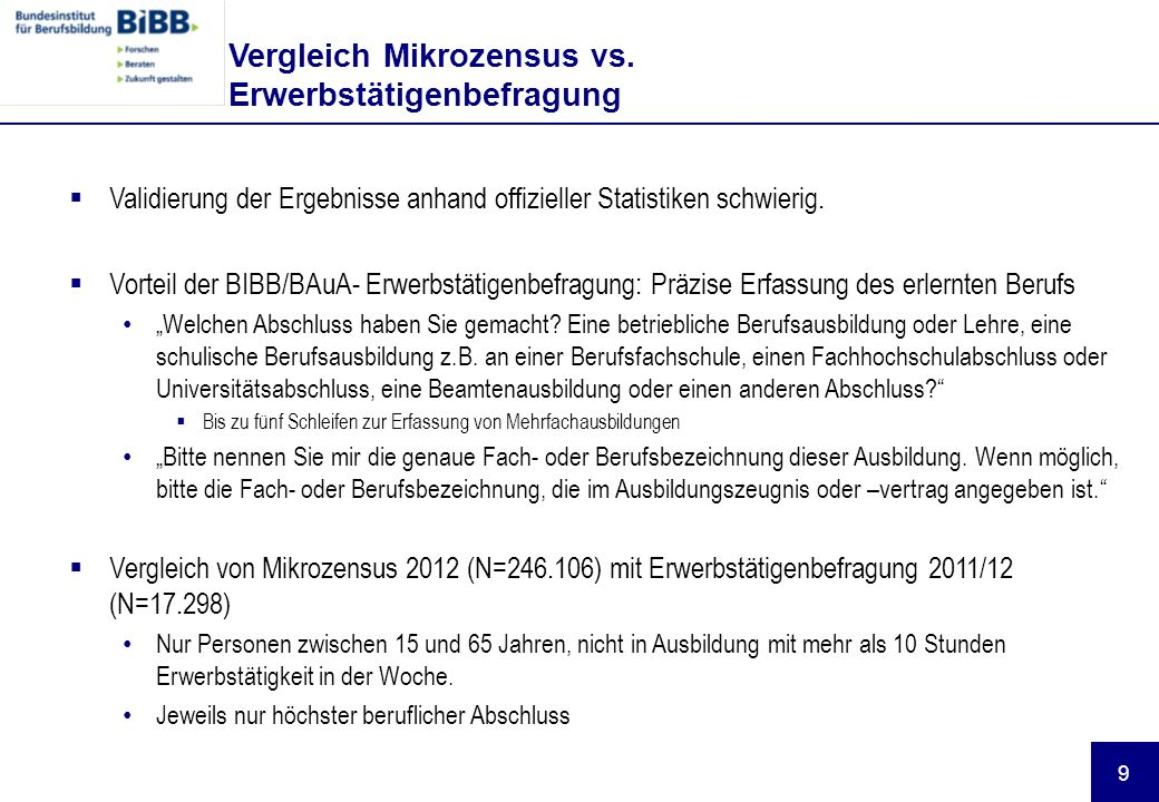 10 Verteilung nach Dreisteller der KldB 2010 Mechatronik u.