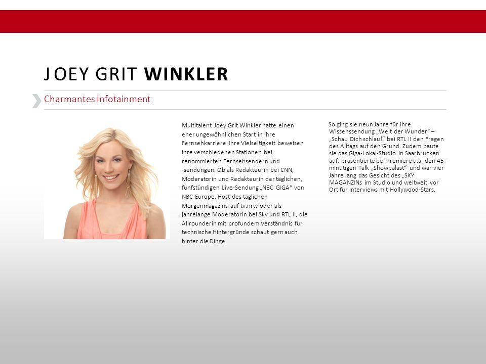 """So ging sie neun Jahre für ihre Wissenssendung """"Welt der Wunder"""" – """"Schau Dich schlau!"""" bei RTL II den Fragen des Alltags auf den Grund. Zudem baute s"""