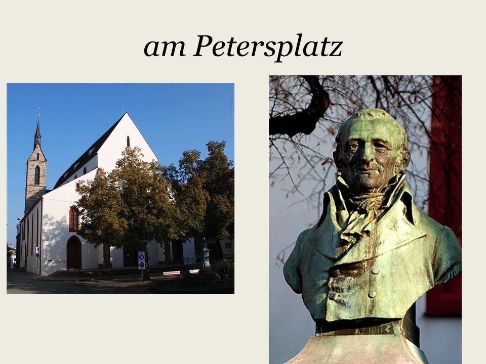 Johann Peter Hebels Geburtshaus