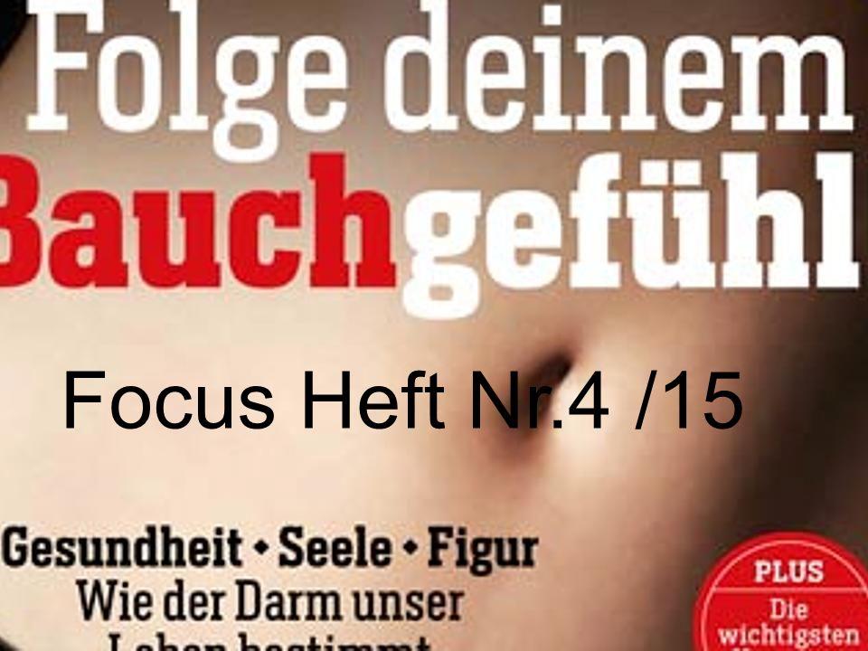 Focus Heft Nr.4 /15