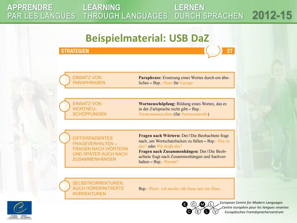 Beispielmaterial: USB DaZ