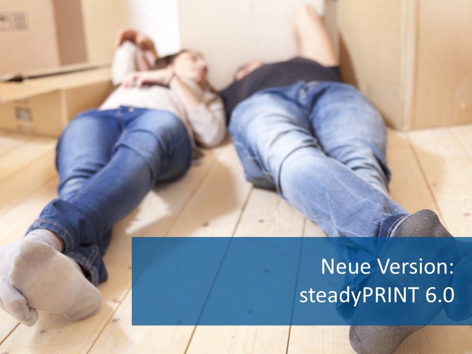 Neue Version: steadyPRINT 6.0