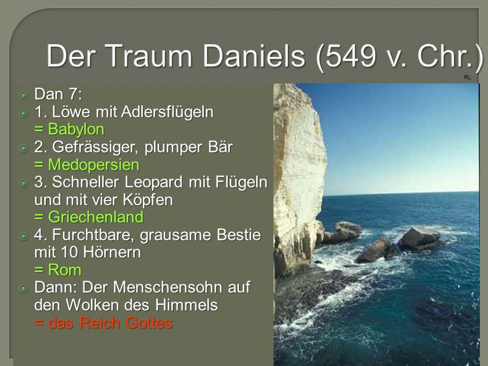 """ Der Antichrist wird im Buch Daniel einfach """"der König genannt (Dan 11,36- 39)."""
