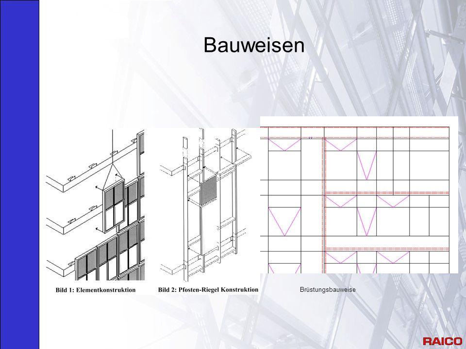Bauweisen Brüstungsbauweise
