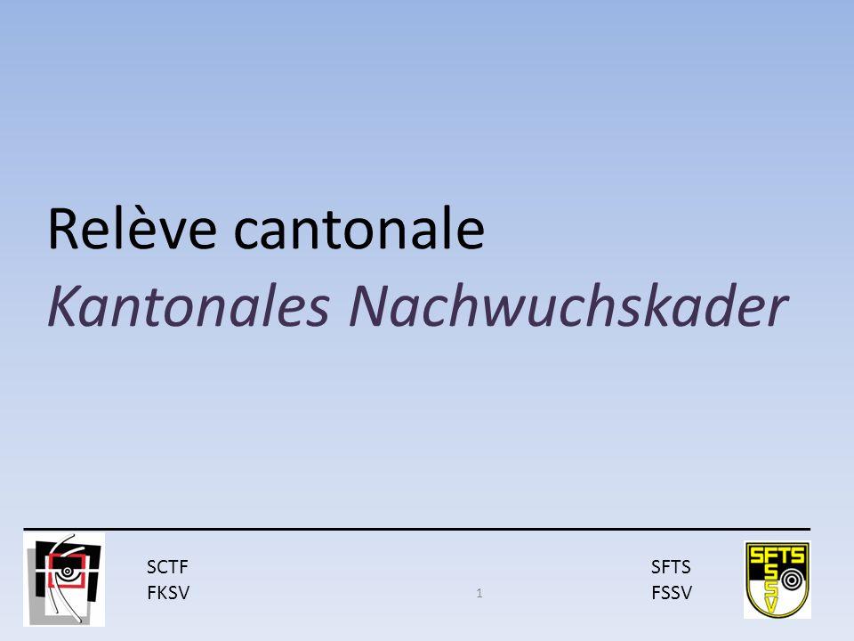 SCTF FKSV SFTS FSSV Relève cantonale Kantonales Nachwuchskader 1
