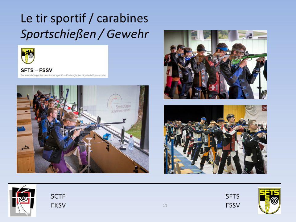 SCTF FKSV SFTS FSSV Le tir sportif / carabines Sportschießen / Gewehr : 11