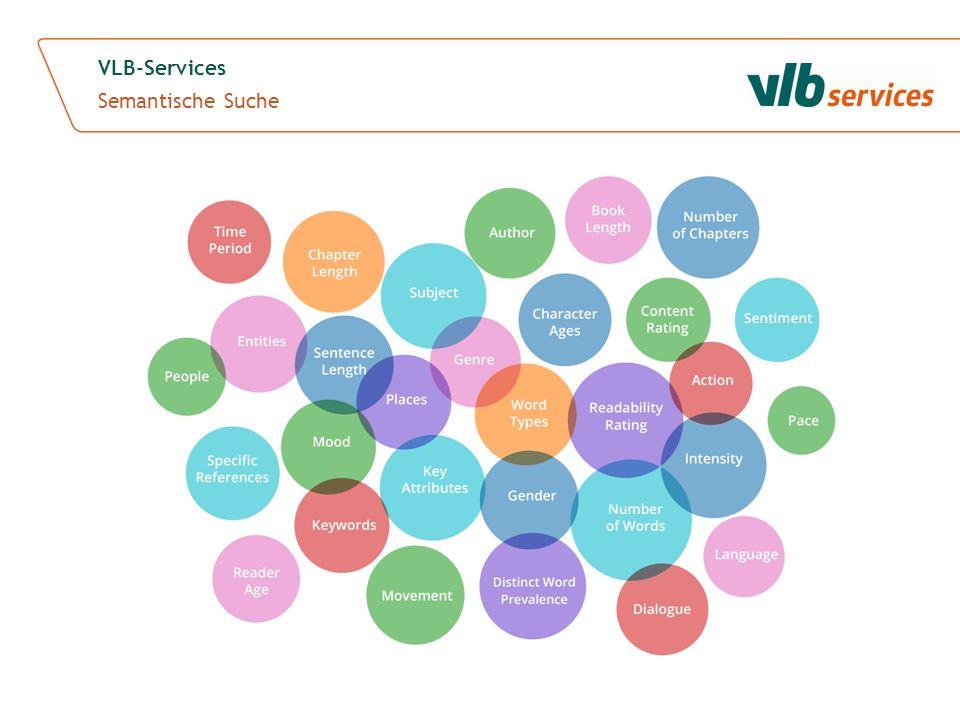 VLB-Services Semantische Suche