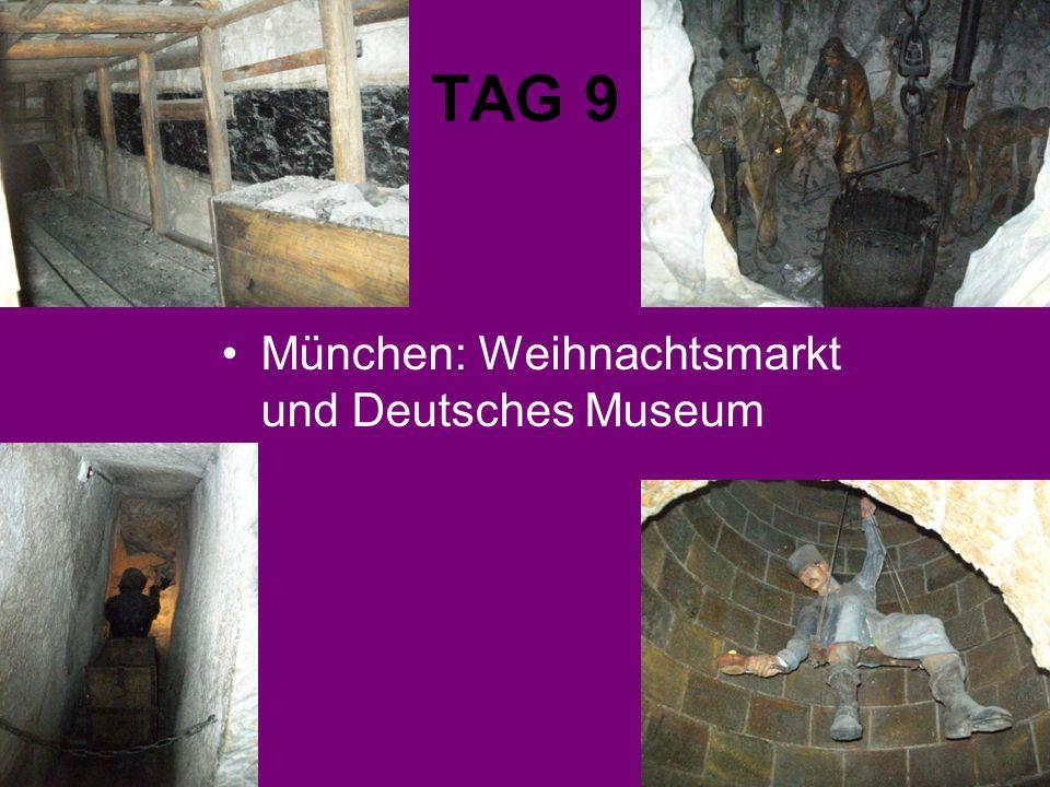 TAG 9 München: Weihnachtsmarkt und Deutsches Museum