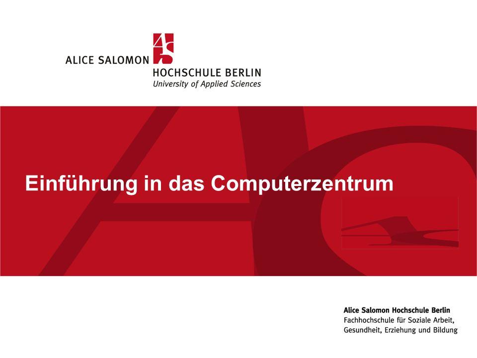 Einführung in das Computerzentrum