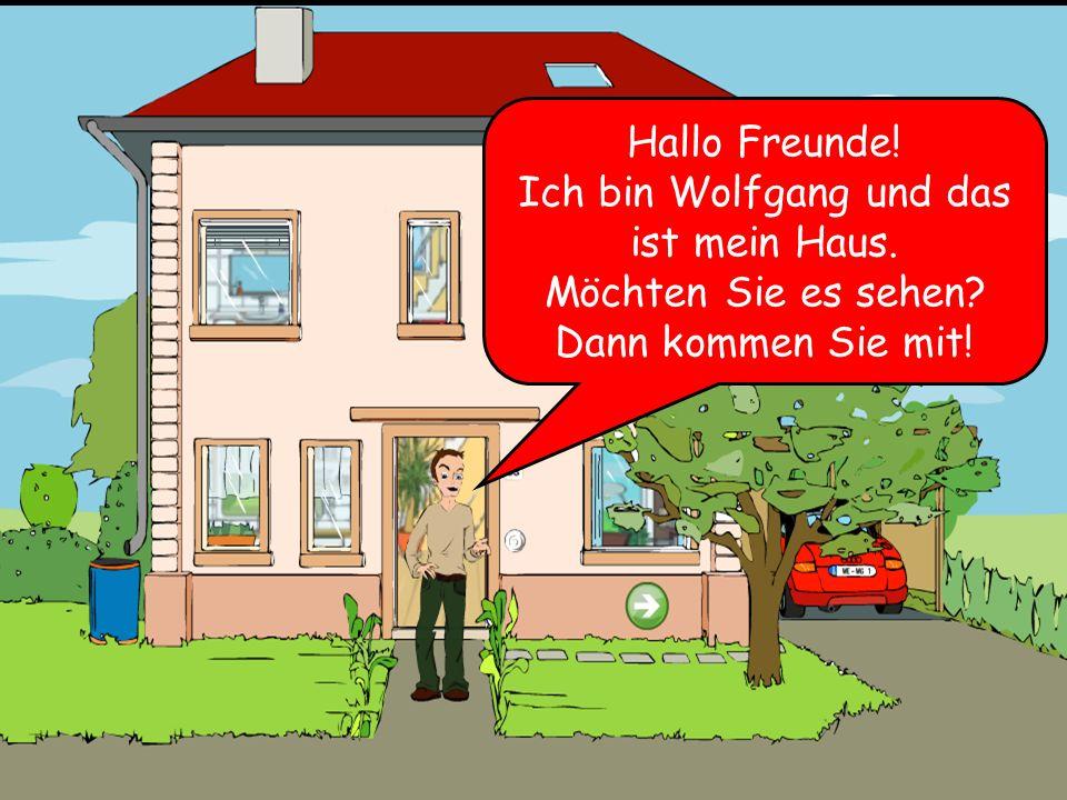 Das ist das Haus von Wolfgang Goethe