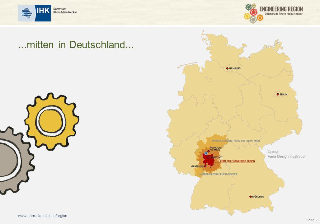 www.darmstadt.ihk.de/region Wissensvorsprung dank Wissenschaft und Forschung Wir haben hier...