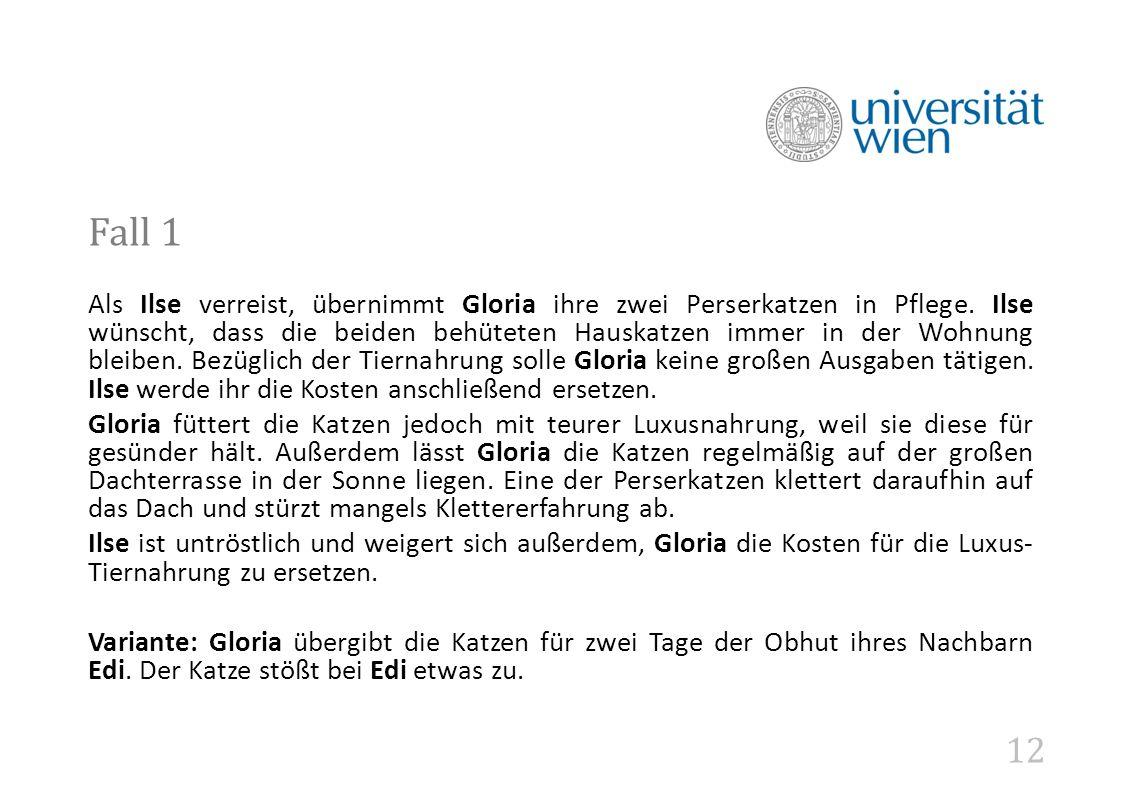 12 Fall 1 Als Ilse verreist, übernimmt Gloria ihre zwei Perserkatzen in Pflege.