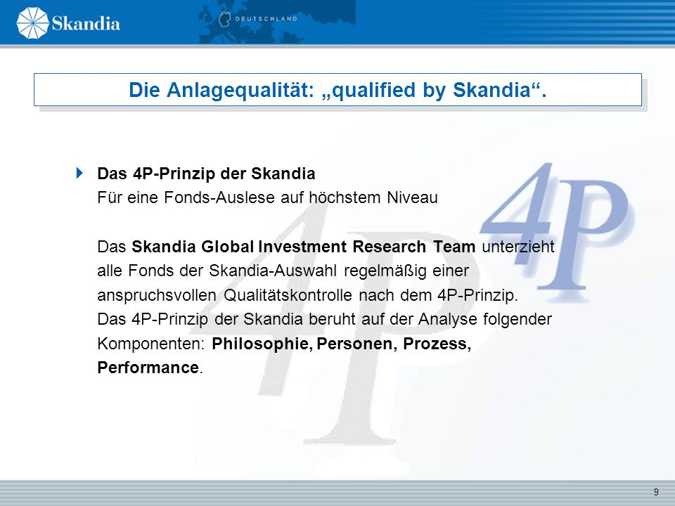 10 Das Portfolio: Investment-Kompetenz pur.
