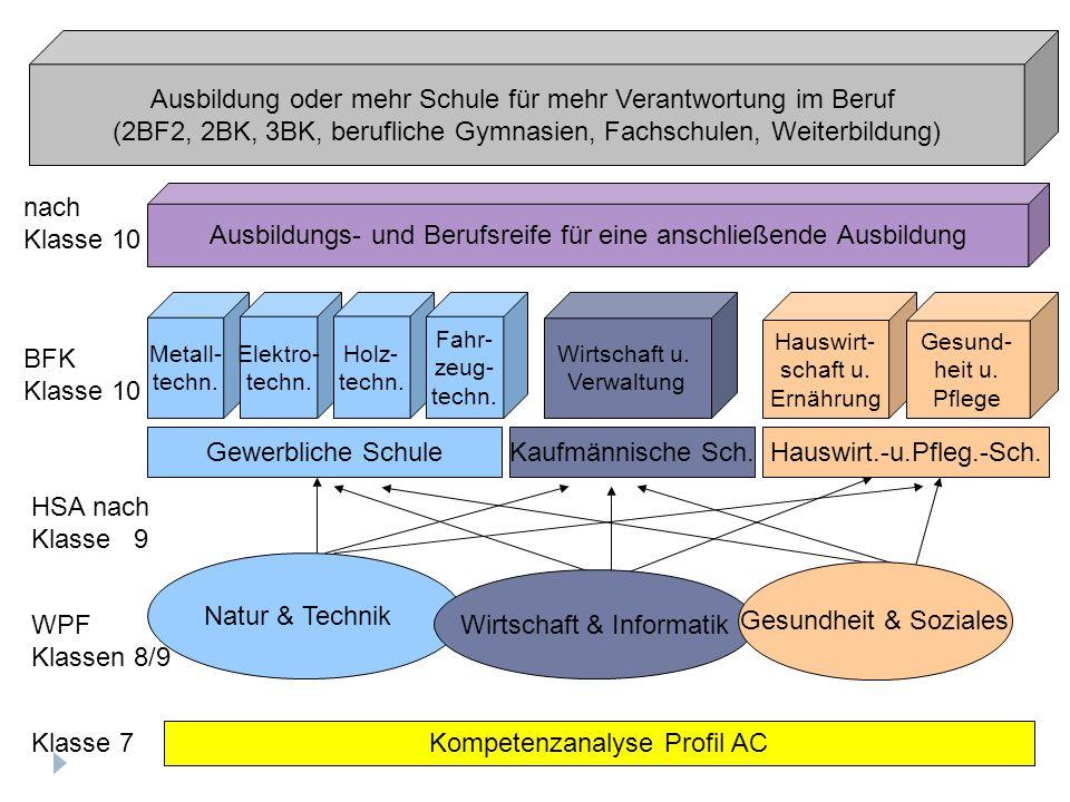 Gewerbliche SchuleKaufmännische Sch.Hauswirt.-u.Pfleg.-Sch.