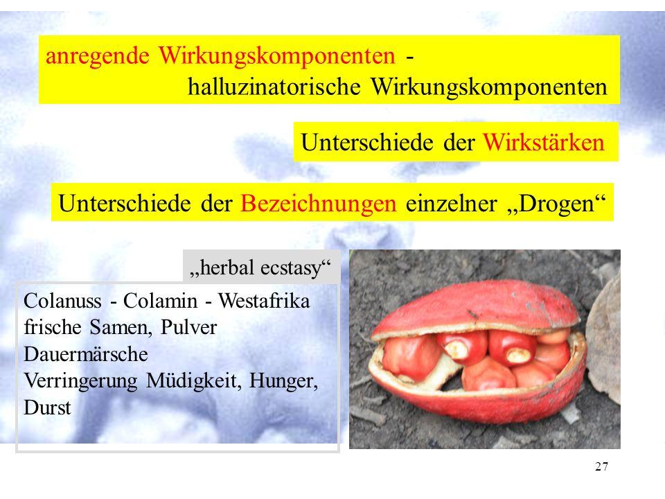 """26 Begriffsbestimmung Stimulanzien Aufputschmittel Energizer """" uppers """" Schnellmacher"""