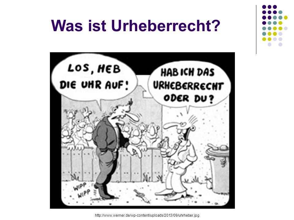 Was ist Urheberrecht http://www.werner.de/wp-content/uploads/2013/09/uhrheber.jpg