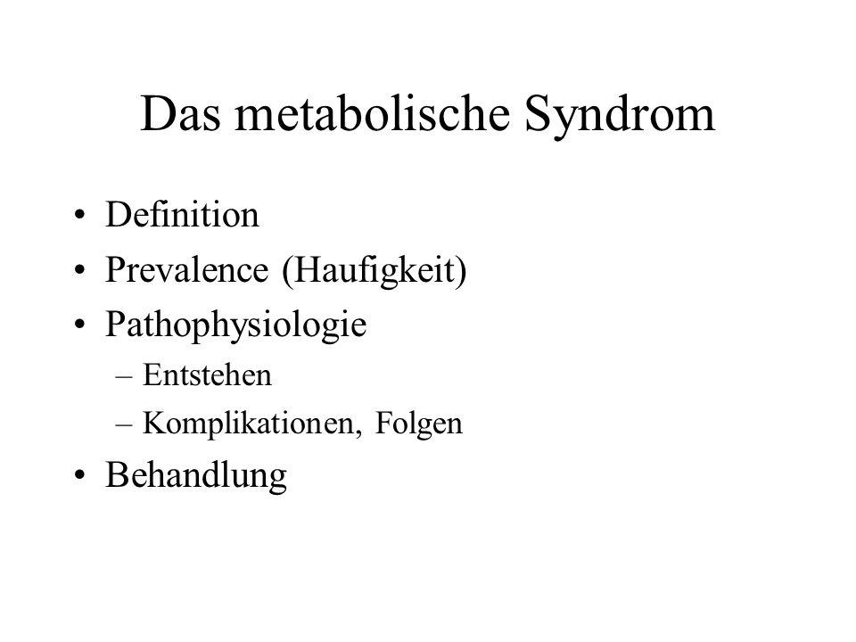 Intra-abdominale (viscerale) Fett Das gefärliche innere Fett.