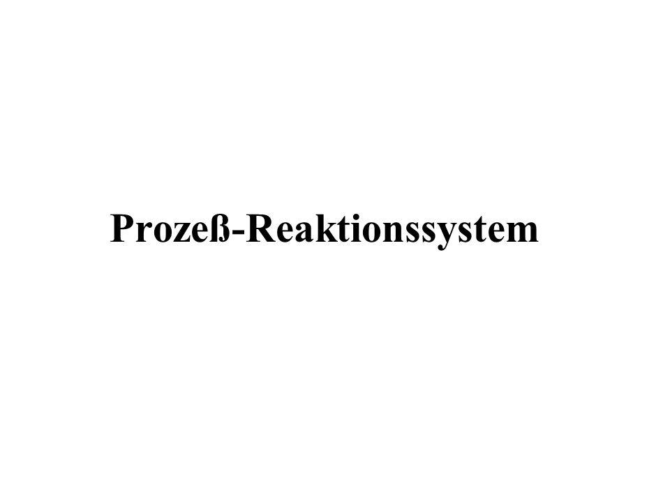 Prozeß-Reaktionssystem