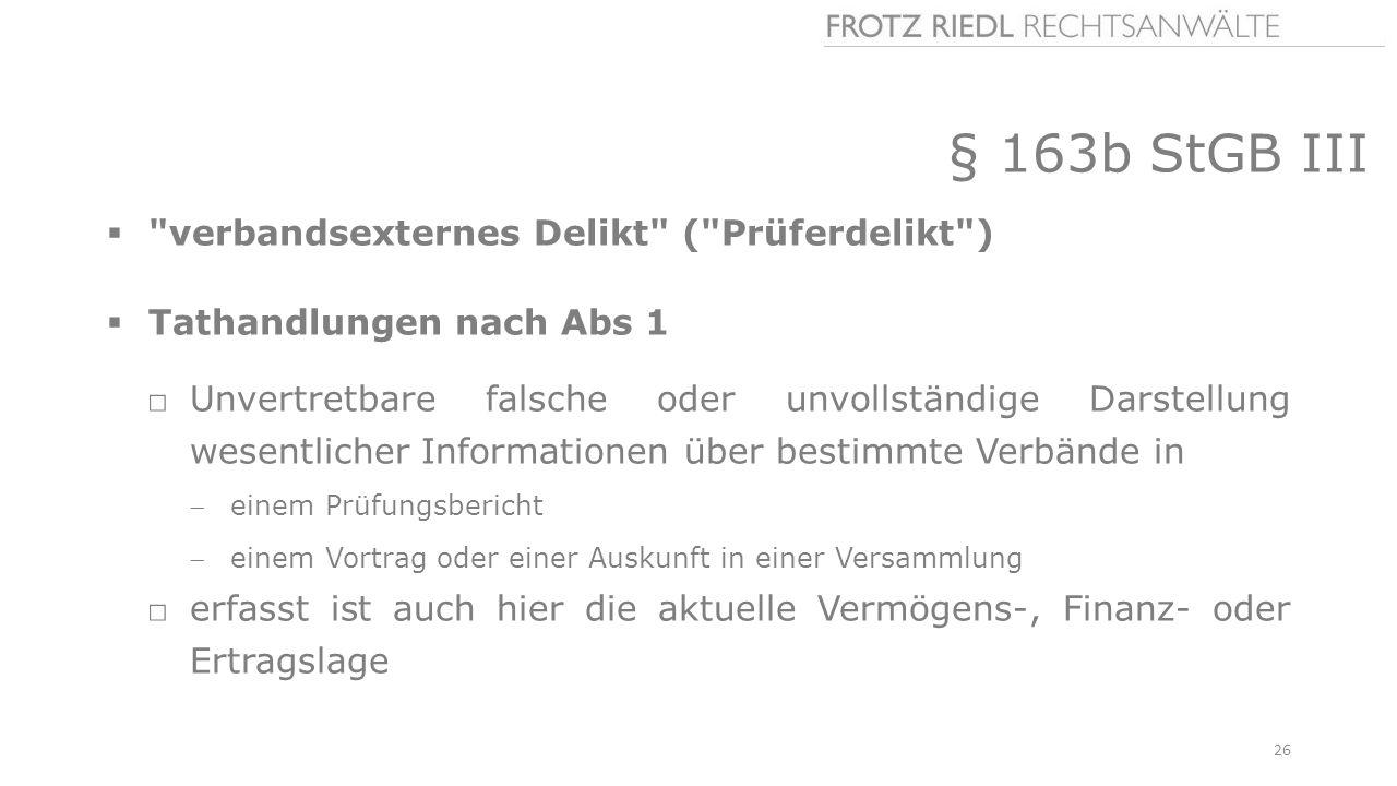 § 163b StGB III 