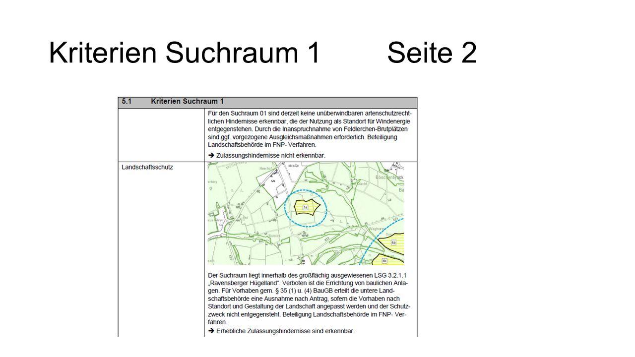 Kriterien Suchraum 1 Seite 2