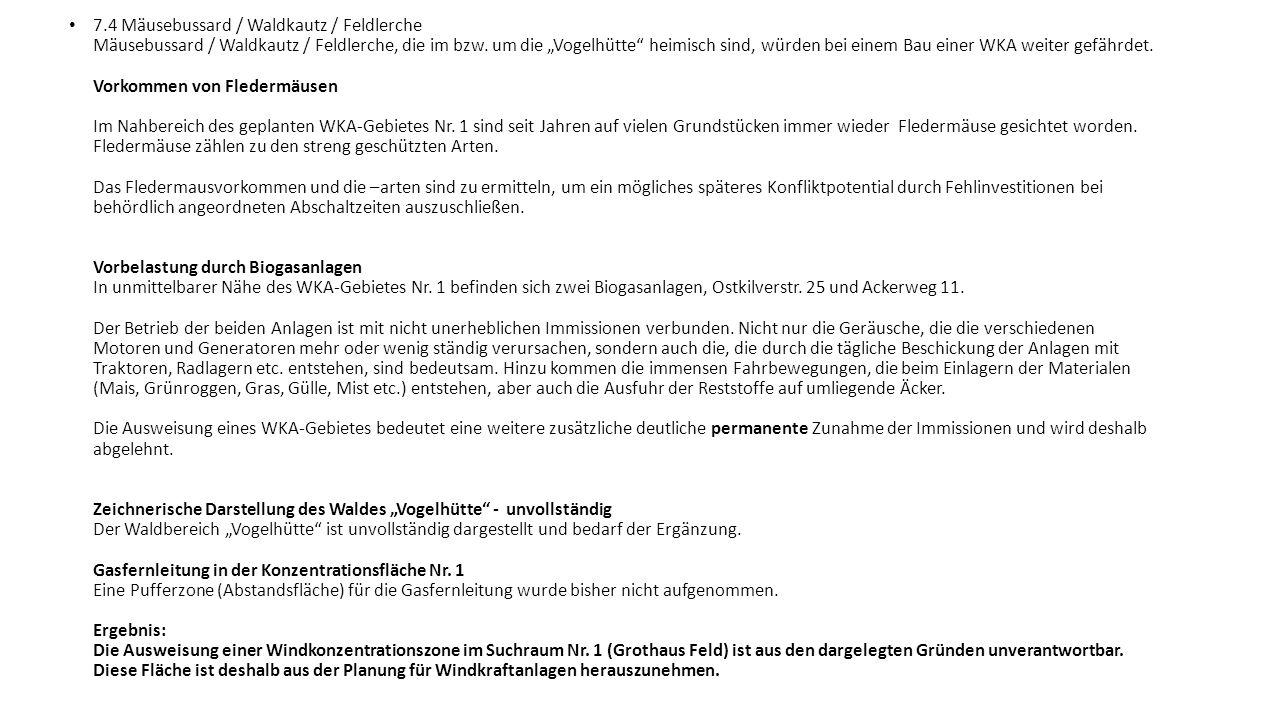 7.4 Mäusebussard / Waldkautz / Feldlerche Mäusebussard / Waldkautz / Feldlerche, die im bzw.