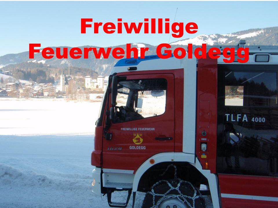 Freiwillige Feuerwehr Goldegg