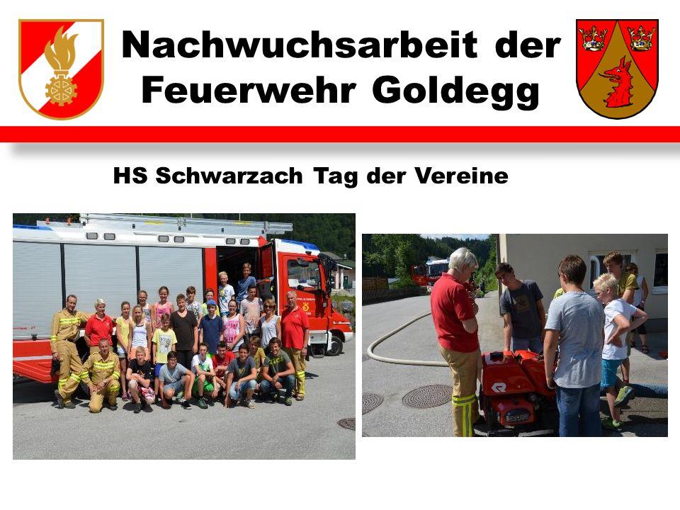 Nachwuchsarbeit der Feuerwehr Goldegg HS Schwarzach Tag der Vereine