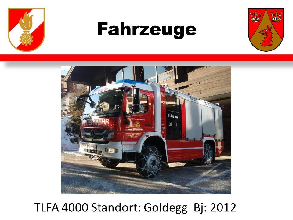 Fahrzeuge TLFA 4000 Standort: Goldegg Bj: 2012