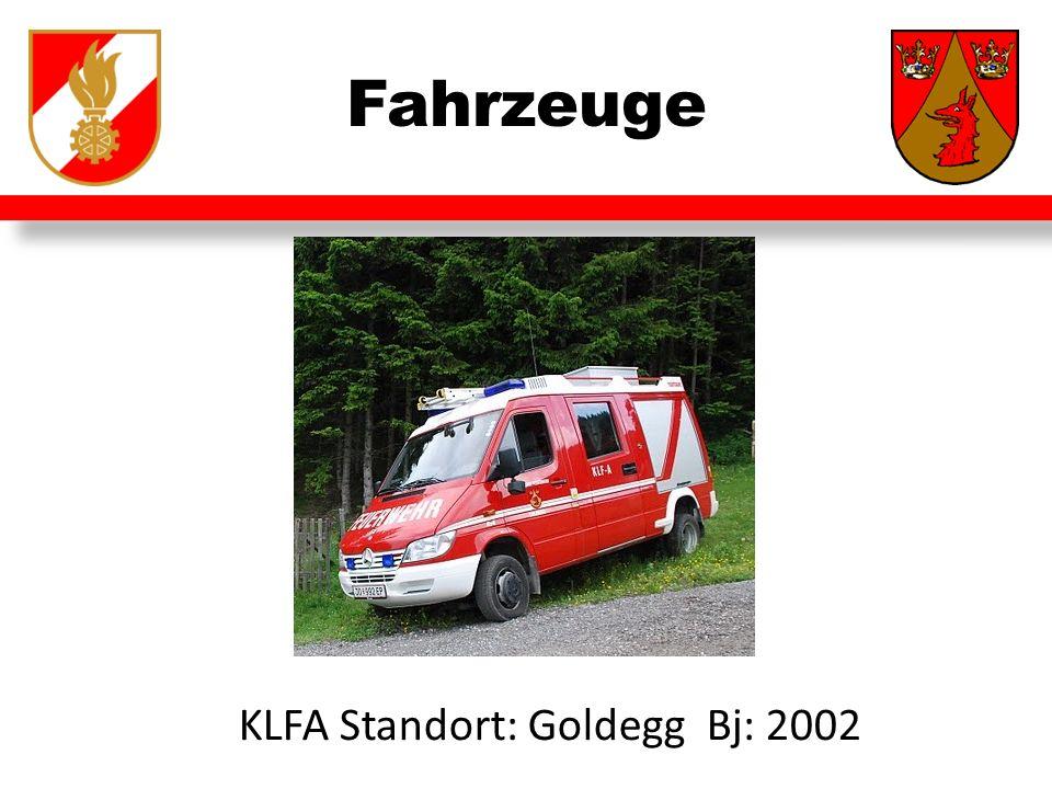 Fahrzeuge KLFA Standort: Goldegg Bj: 2002