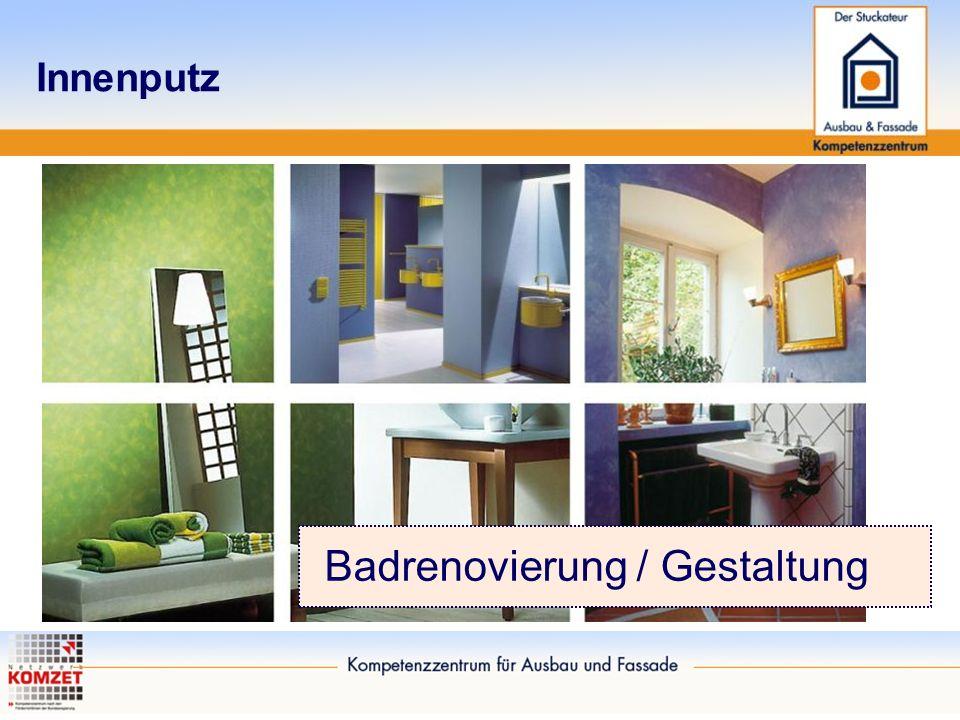 Innenputz Badrenovierung / Gestaltung