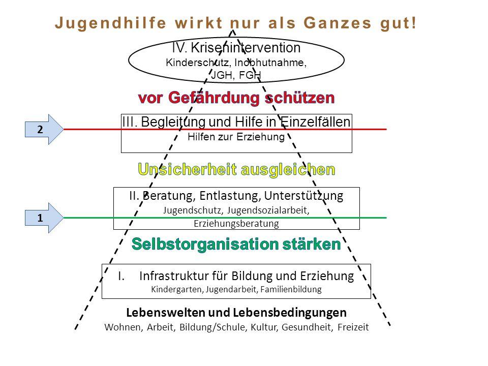 IV. Krisenintervention Kinderschutz, Inobhutnahme, JGH, FGH II.