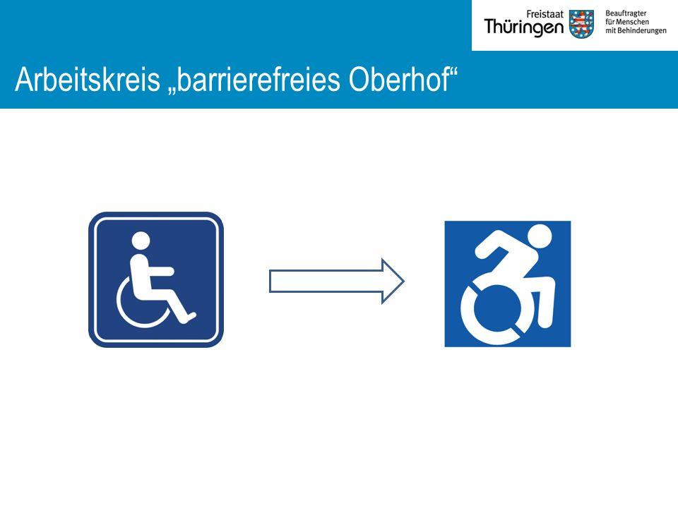 """Arbeitskreis """"barrierefreies Oberhof"""