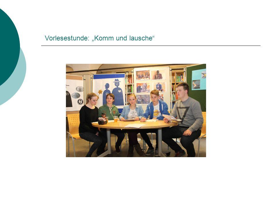 """Vorlesestunde: """"Komm und lausche"""""""