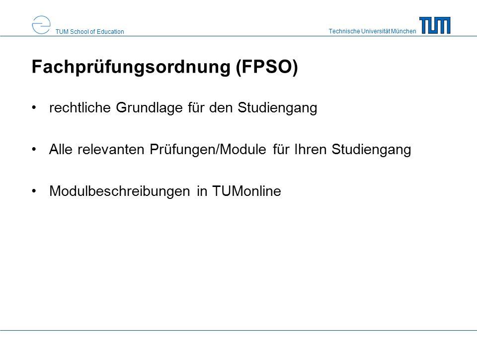 Technische Universität München TUM School of Education Atteste Unterrichtsfach Sport: alle Atteste, die den Sport betreffen, bitte unverzüglich an die Fakultät Sport Eintragung bei Modulteilprüfungen sinnvoll Lassen Sie sich immer Atteste ausstellen und sammeln Sie diese.