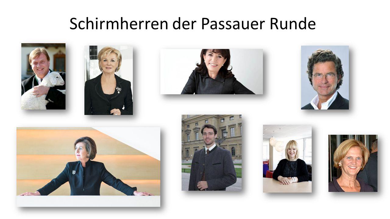 Schirmherren der Passauer Runde