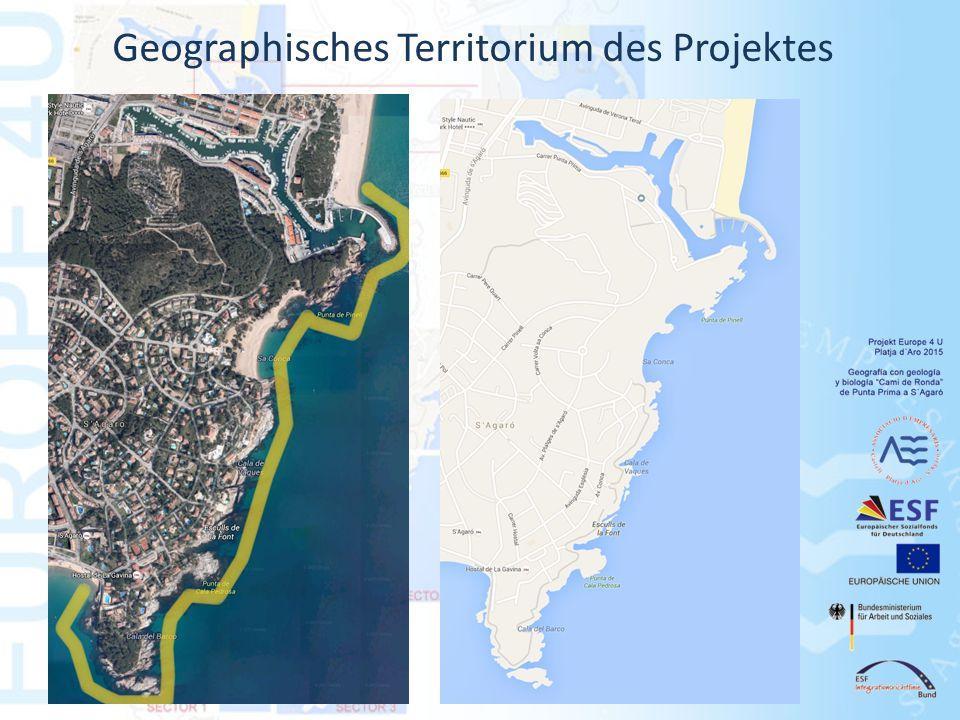 Geographisches Territorium des Projektes