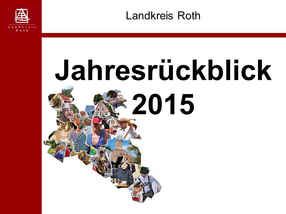 Jahresrückblick 2015 Landkreis Roth
