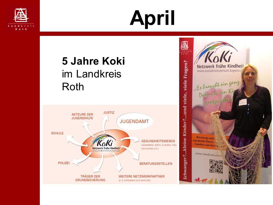 April 5 Jahre Koki im Landkreis Roth
